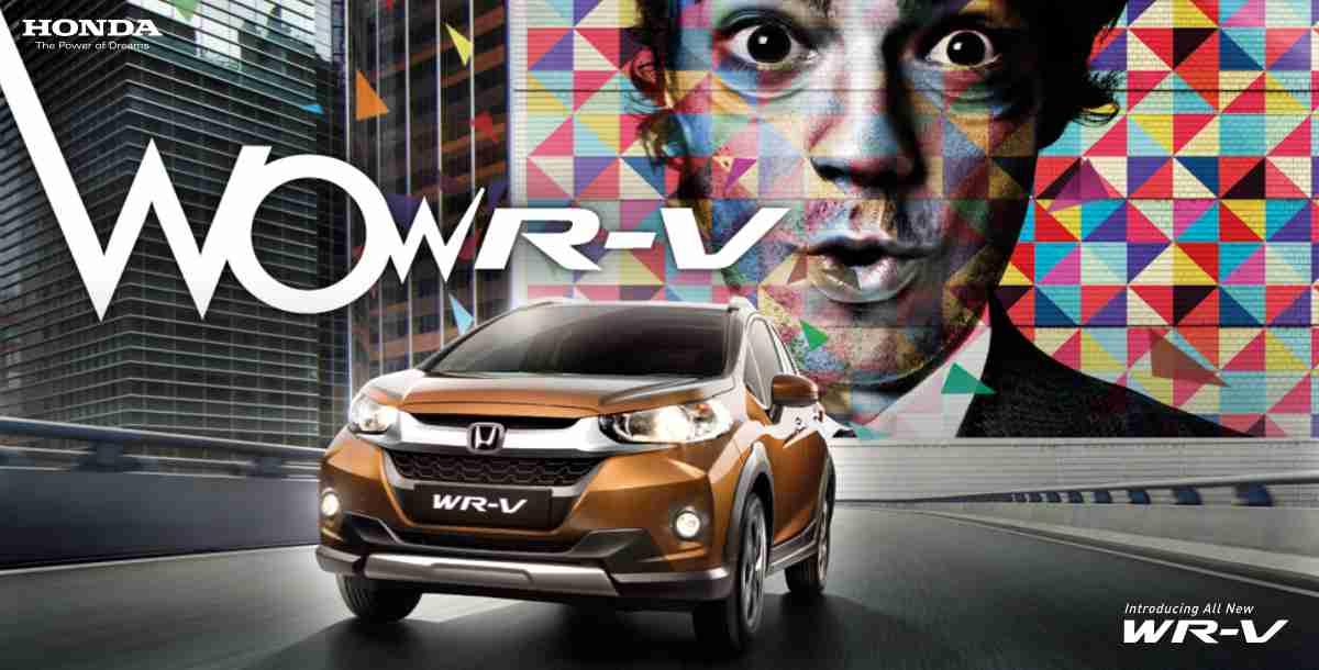 Honda WR-V slide 1